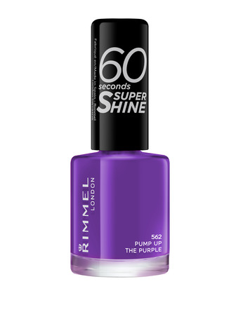 Rimmel 60 Seconds Super Shine Neglelak 562 562 Pump up the Purple
