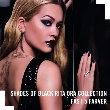 Rimmel 60 sec Rita 60 Shades of Black neglelak 902 Moonlight Magic