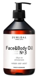 Juhldal Face & body Oil, 500 ml.