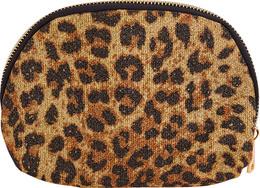 Luxury by Laze Halfmoon make-up pung Leopard