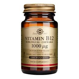 Solgar B12 Vitamin 100mcg  100 tabl.