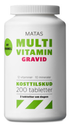 Matas Striber Matas Multivitamin Gravid