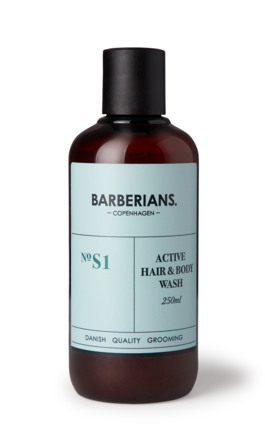 Barberians cph Active Hair & Body Wash 250 ml