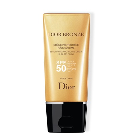 DIOR BEAUTIFYING PROTECTIVE CREME SUBLIME GLOW SPF 50 FACE 50 ML