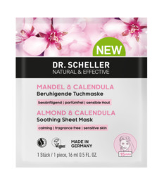 Dr. Scheller Mandel & Calendula Beroligende Sheet Mask