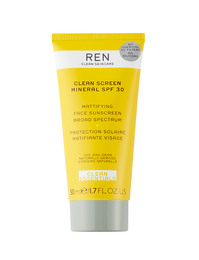 REN Clean Skincare Clean Screen Mineral SPF 30 Face Sunscreen 50 ml