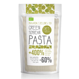 Diet Food Soja fettuccine grøn Øko 200 gr.