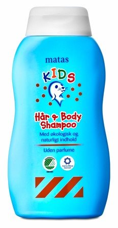 Matas Striber Kids Hår- og Body Shampoo 250 ml