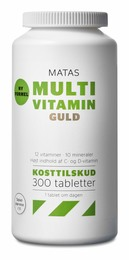 Matas Striber Matas Multivitamin Guld 300 tabl.