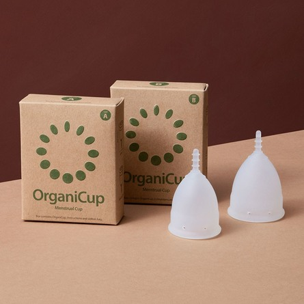 OrganiCup Menstruationskop str. B