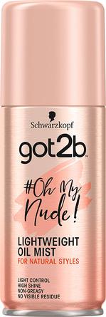 Schwarzkopf Got2b #OhMyNude Lightweight Oil Mist 100 ml
