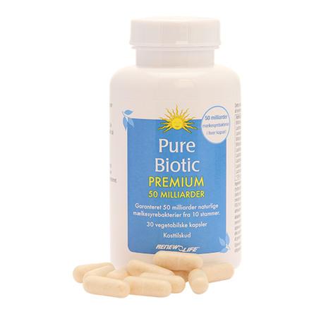 Renew Life Pure Biotic Premium 50  30 kaps.
