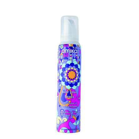 amika: Bust Your Brass Cool Violet Leave-In Treatment Foam 157 ml