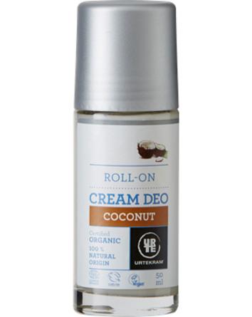 Urtekram Cremedeo roll-on coconut øko 50 ml