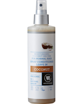 Urtekram Spray conditioner leave incoconut øko 250 ml