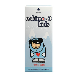 Eskimo-3 med E-vitamin Kids, Tutti Frutti
