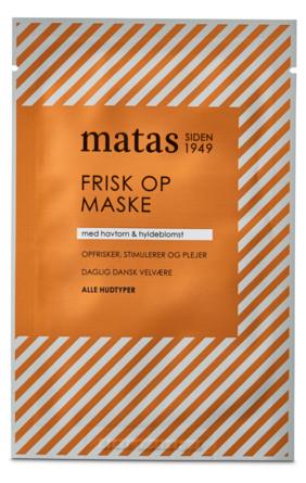 Matas Striber Frisk Op Maske til Alle Hudtyper 1 stk.
