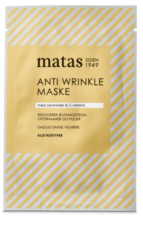 Matas Striber Anti Wrinkle Maske til Alle Hudtyper 1 stk.