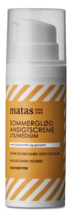 Matas Striber Sommerglød Ansigtscreme Lys/Medium til alle hudtyper 50 ml
