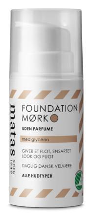 Matas Striber Foundation til Alle Hudtyper Uden Parfume Mørk