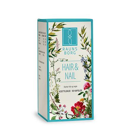 Raunsborg Hair & Nail 90 kapsler