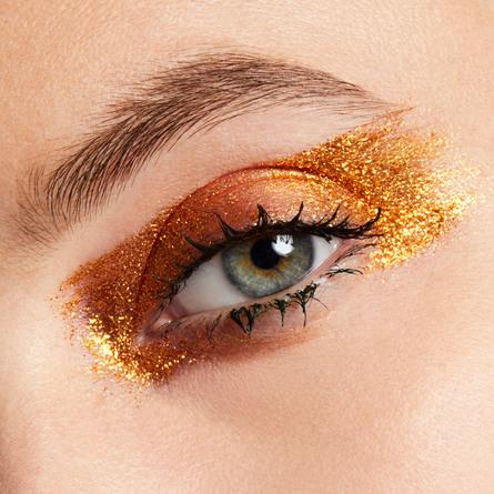 MAC Extra Dimension Foil Eye Shadow Rich Sparkly Gold