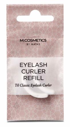 M.COSMETICS Bacis Eyelash Curler Refill 2 stk.