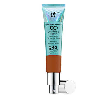 IT Cosmetics Your Skin But Better CC+ Oil Free SPF 40+ Rich Honey