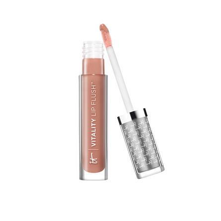 IT Cosmetics Vitality Lip Flush Butter Gloss Perfect Nude
