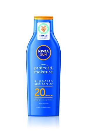 Nivea Sun Protect & Moisture Sun Lotion SPF 20 200 ml