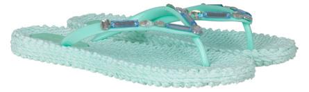 Ilse Jacobsen Flip Flop with Stones Jade Mint Str. 37