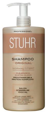 Stuhr Original Shampoo Normalt/Tørt 1000 ml