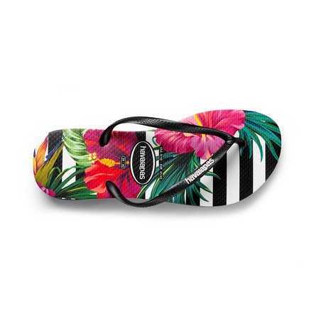 Havaianas Slim Tropical Floral/Imperial Palace str. 39/40 - 26 cm lang