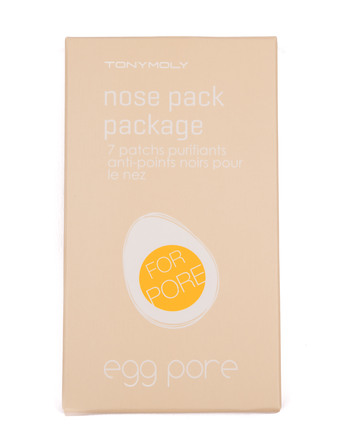 TonyMoly Egg Pore Nose Pack Package 7 stk.