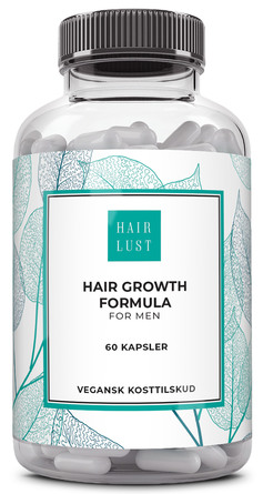 HairLust Hair Vitamins Men 60 kaps