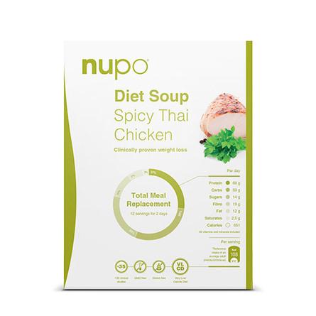 Nupo Suppe - Spicy Thai Chicken 384 g