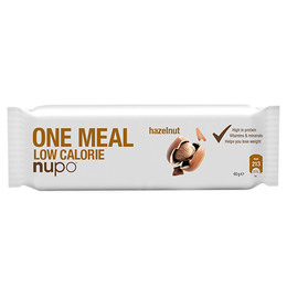 Nupo meal bar hasselnød 60 g