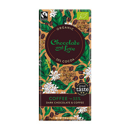 Chocolate and Love Chokolade Coffee 55% Øko 80 g