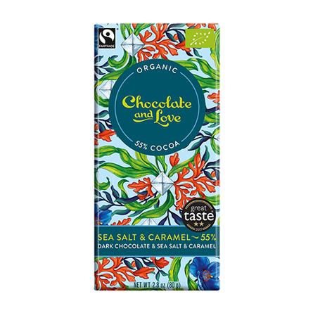 Chokolade Sea Salt 55% Ø 80 g
