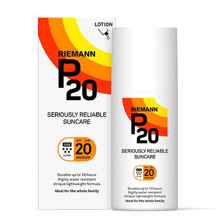 P20 Riemann Solbeskyttelse SPF 20 200 ml