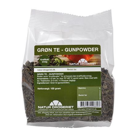 Natur Drogeriet Grøn Gunpowder the 100 g
