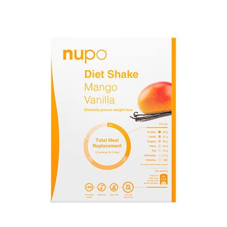 Nupo Diet Mango/Vanilla 384 g