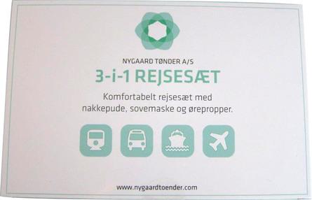 Nygaard Rejsesæt 3-i-1