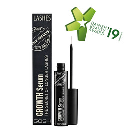 Gosh Copenhagen Growth Serum The Secret of Longer Lashes