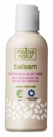 Matas Natur Aloe Vera & E-vitamin Balsam Rejsestørrelse 80 ml