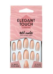 Elegant Touch Colour Nails Wild Nudes Kunstige Negle You Glow, Girl!