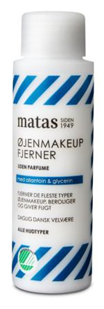 Matas Striber Øjenmakeupfjerner til Alle Hudtyper Uden Parfume 40 ml, rejsestørrelse