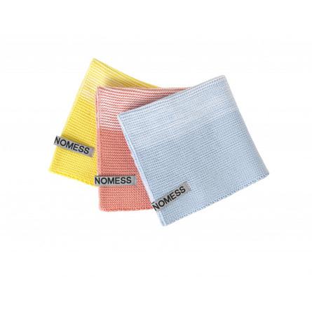 Nomess Karklude 3-Pak Yellow/Pink/Blue