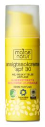 Matas Natur Ansigtssolcreme SPF 30 50 ml