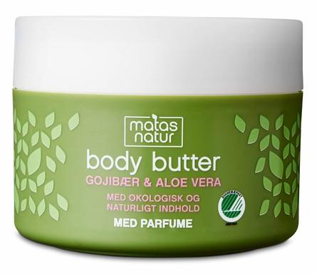 Matas Natur Gojibær & Aloe Vera Body Butter 200 ml
